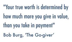 Bob Burg quote